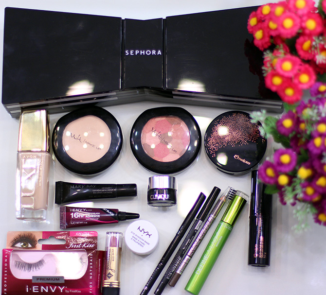 8-maquiagem roxa rosa e dourada glamour jana taffarel