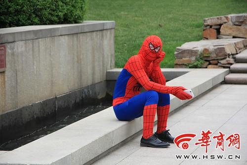 假扮的蜘蛛侠