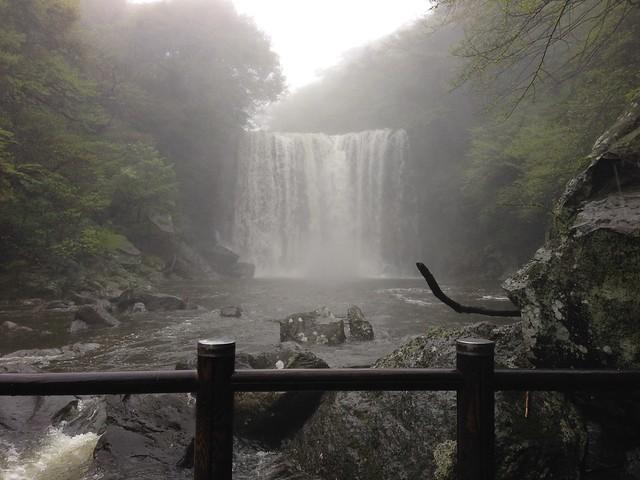 Waterfall #2 at Cheonjeyeon Falls