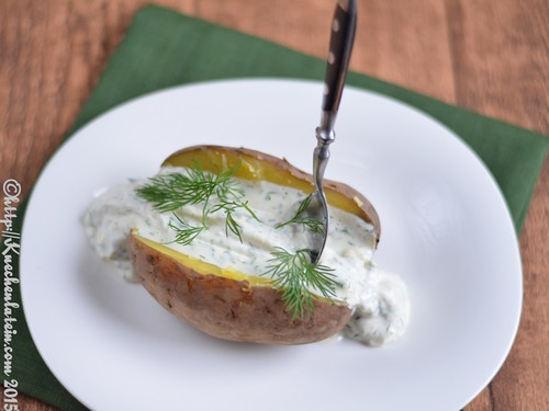 ©Back-Kartoffel aus dem SlowCooker mit Dillcreme