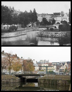 Hospitaalbrug and The Coupure, Ghent