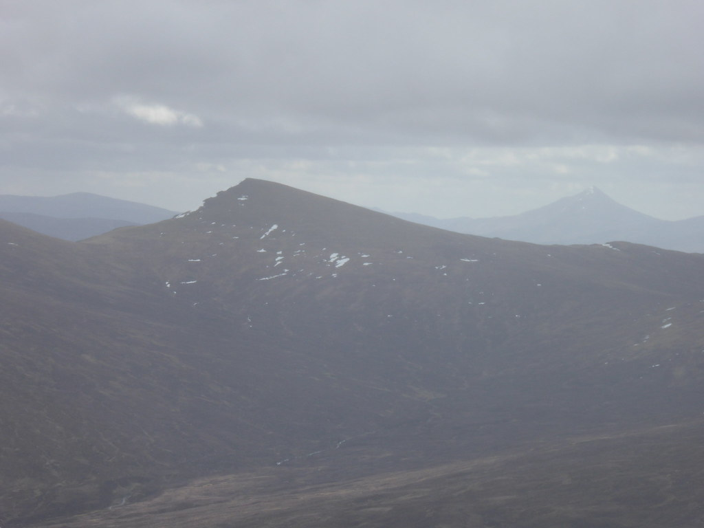 Schiehallion from Beinn na Lap