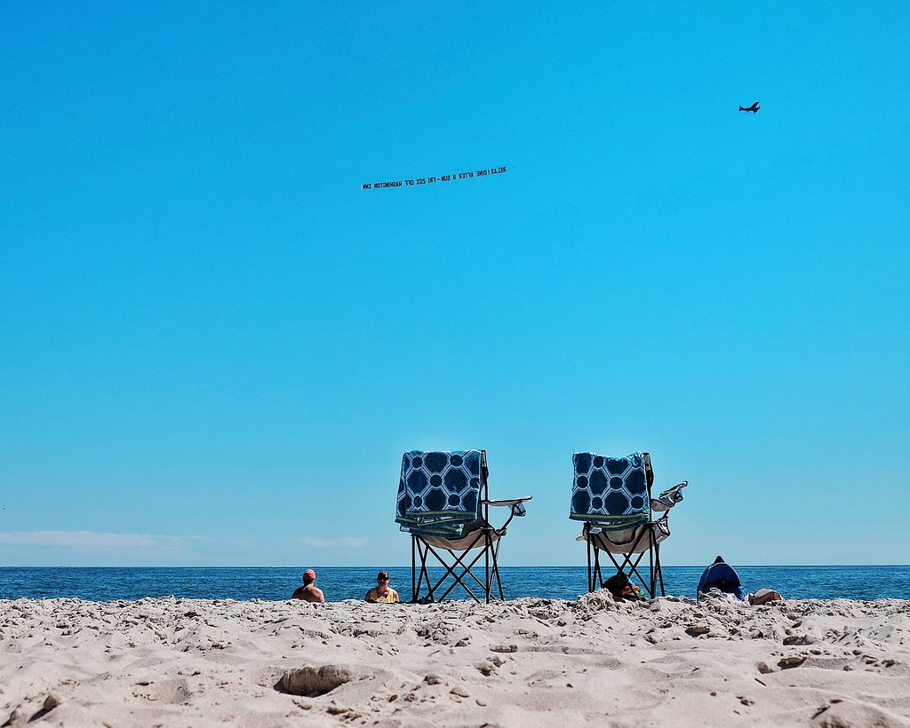 Beach Life Enjoying Life Quality Time Mobilephotography FUJIFILM X-T1 at Cape May Beach