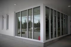 Main Entrance:  Windows at Reception/Waiting Area