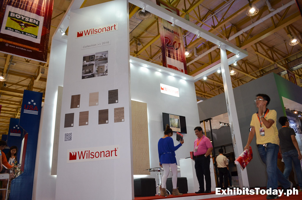 Wilsonart Exhibit Booth