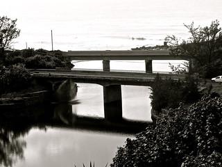 Bridges across the Mzimaye River, Hibberdene