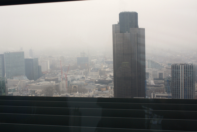 View from the Sky Garden, London