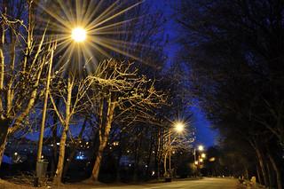 Paseo del Miño de Noche