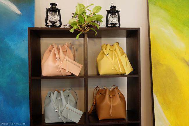 PARFOIS BUCKET BAGS 2015