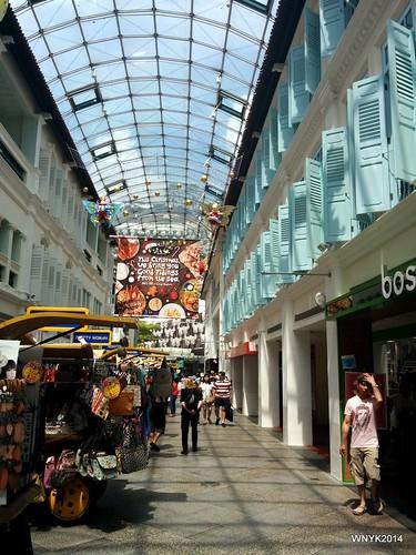 Sunny Shopping Arcade