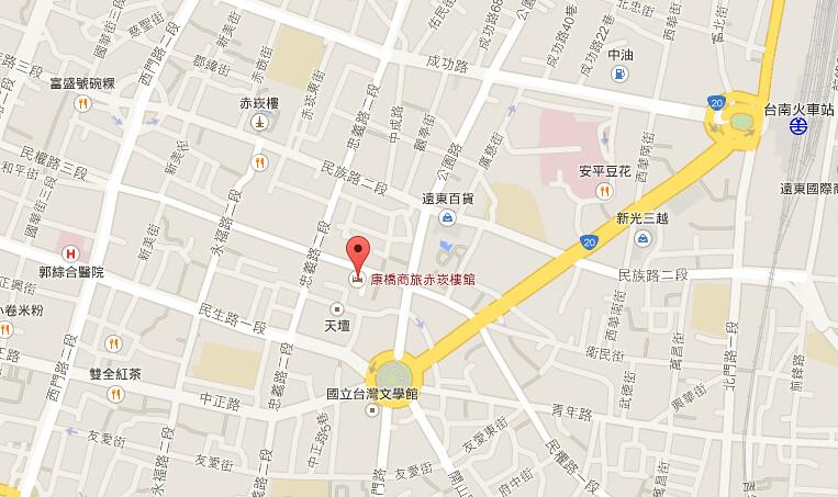 康橋商旅map
