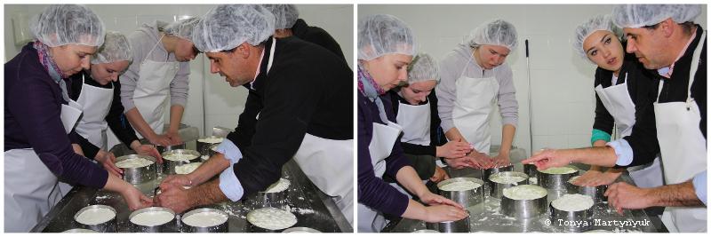 25 - Невероятные приключения москвичек в Каштелу Бранку - quinta - мастер-класс по приготовлению сыра (традиционного португальского)