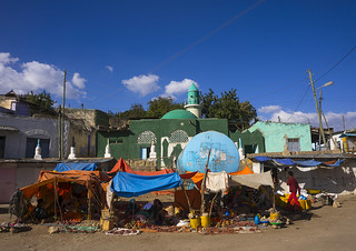 The Market In The Old Town, Harar, Ethiopia