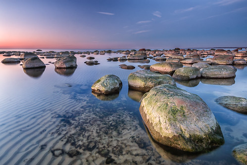 sunset sea seascape beach evening rocks calm efs1022mm 70d