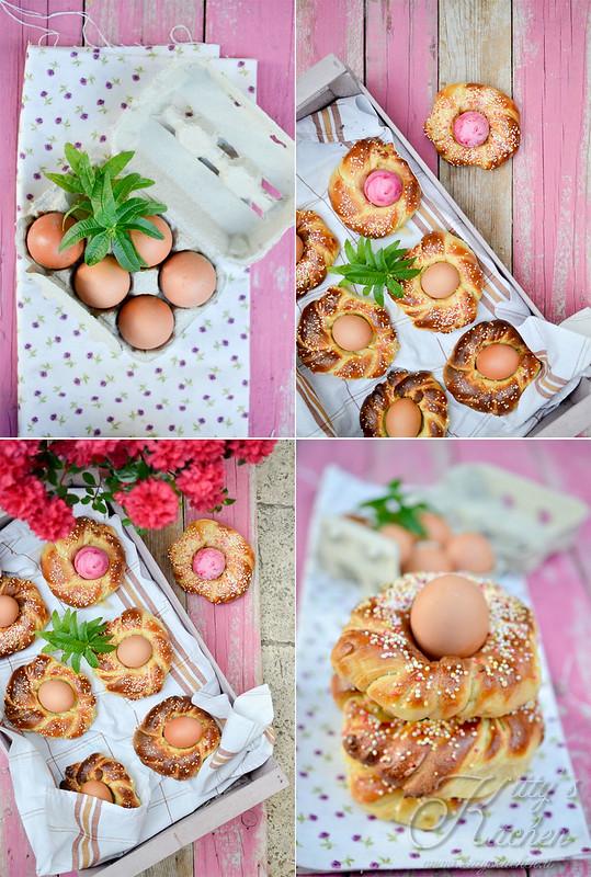 brioche con l'uovo