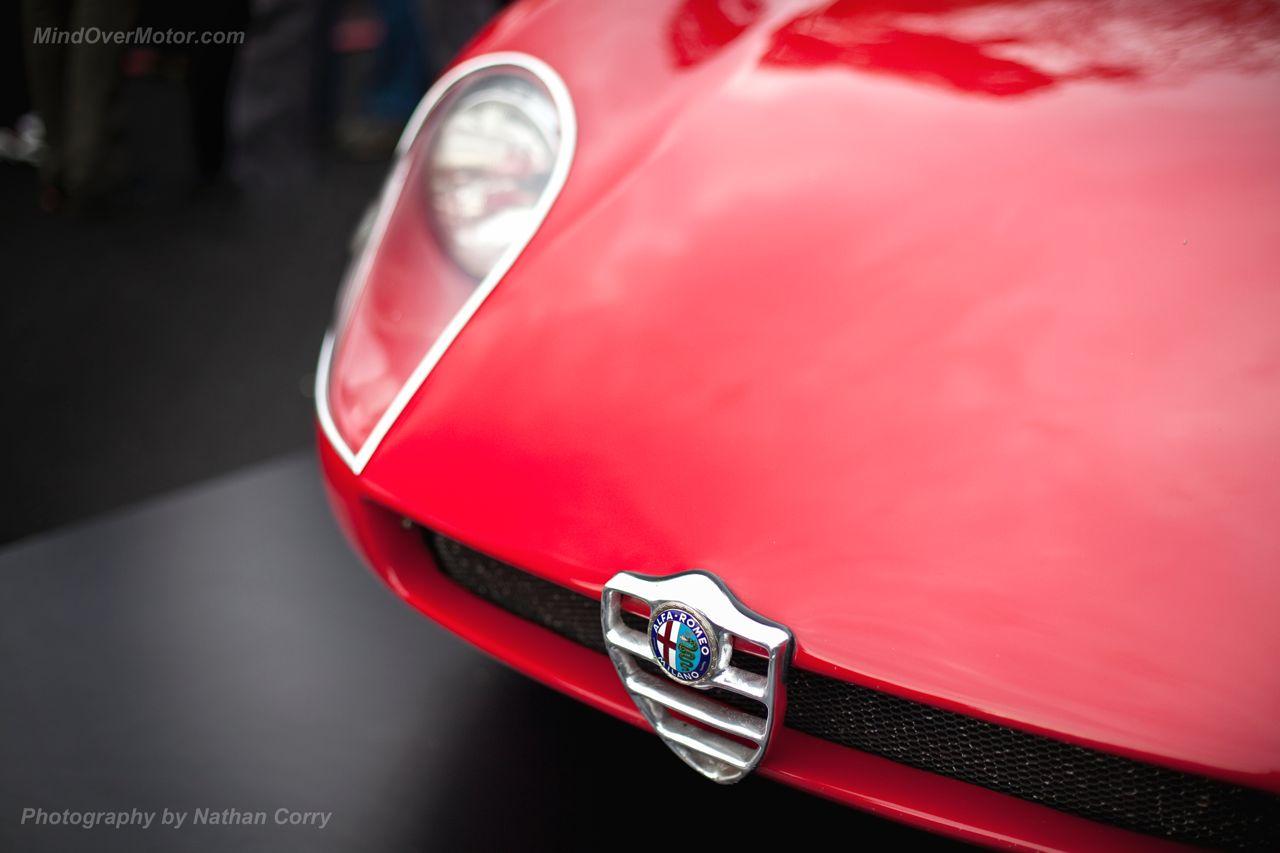 Alfa Romeo Badge Tipo 33 Stradale