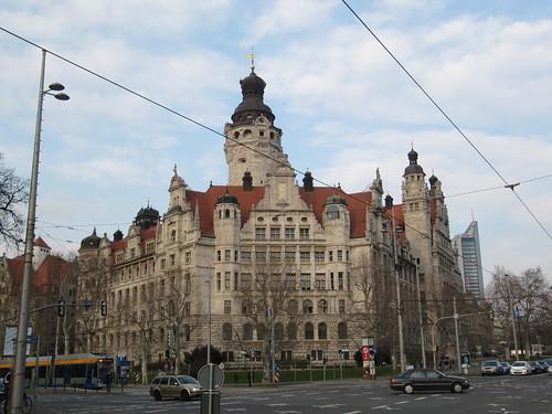 New Town Hall Leipzig Germany Spottinghistory Com