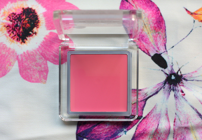 & other stories cheek & lip tint in swivel pink: cream blush review and swatches