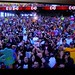 I made a crowd shot on the Wrestlemania broadcast by earthdog
