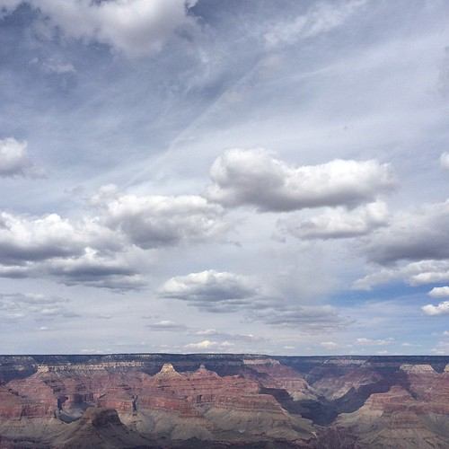 The Grand Canyon. So gorgeous -- a trillion times more amazing in person than any photo can capture.