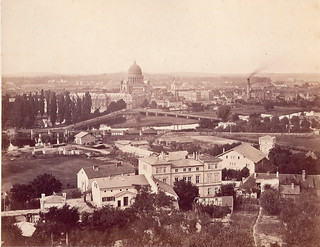 Qui connais cette ville vers 1865. Did you know ?