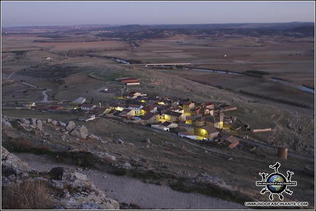 Pueblo de Gormaz, Soria, España.
