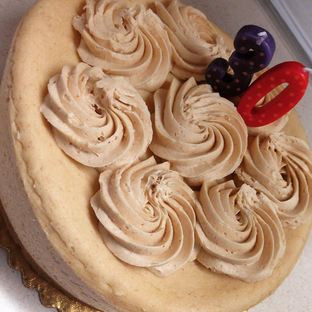 Peanut butter cheesecake is an acceptable dinner, right?