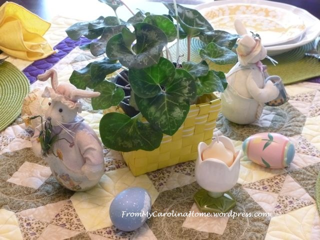 Easter tablescape - 6