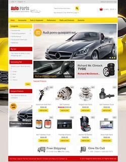 Auto Parts Magento Responsive Template