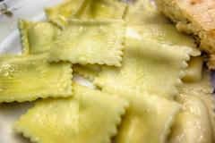 Ravioli pasta - italian food