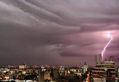 Rayos diurnos - Daytime lightnings