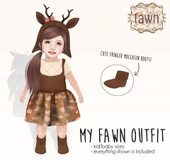 {fawn} My Fawn Outfit