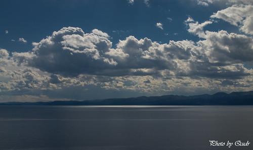 lake clouds landscape mongolia khuvsgul khuvsgullake khuvsgulnuur