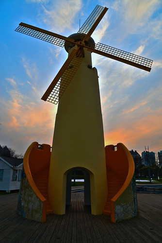 china travel blue sky orange cloud building art windmill beauty architecture photography flickr suzhou dusk 苏州 中国 日落 dlsr d610 flickrtravelaward filmshotting