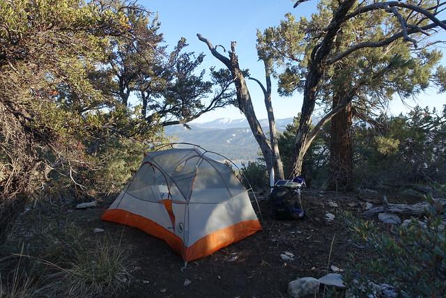 Camp, mile 277