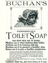 Buchan's Carbolic Toilet Soap 1896