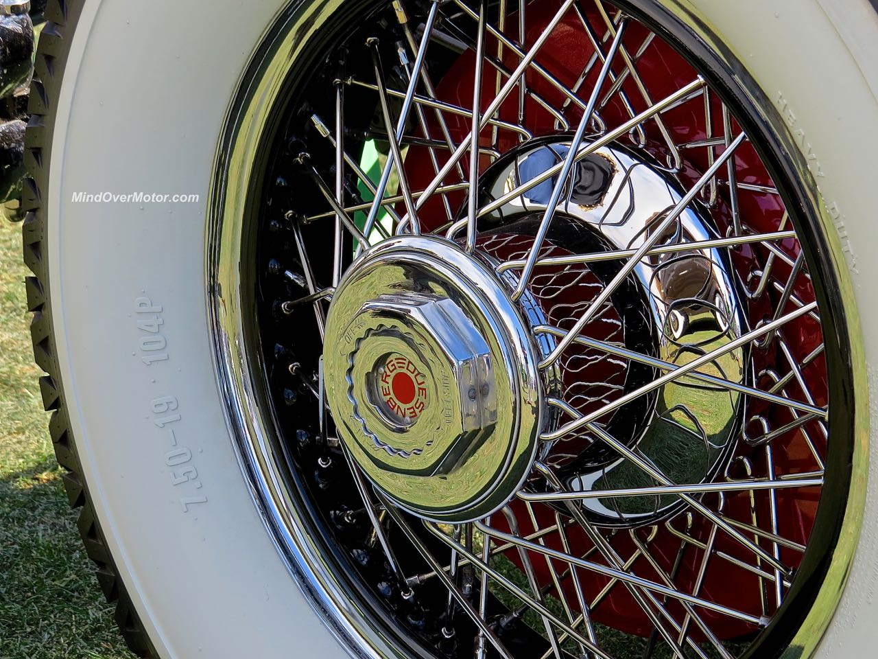 Duesenberg SJ Limo Wire Wheel