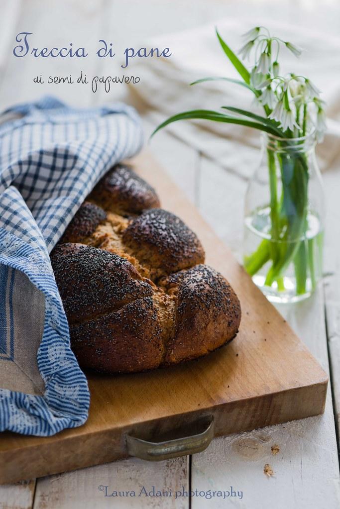 poppy seeds braided bread