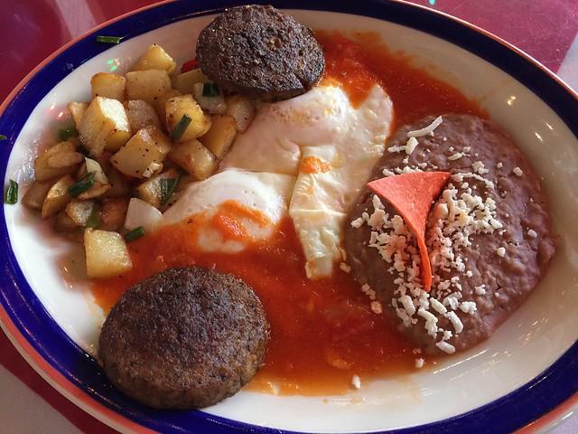 Huevos rancheros - Mi Tierra Cafe