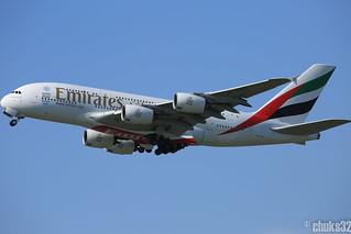 Emirates l A6-EEZ l Airbus A380-800