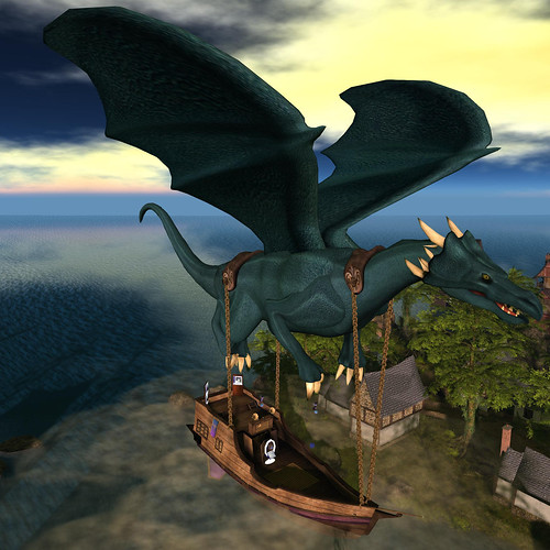 FF Dragon Ship