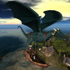 FF Dragon Ship
