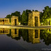 Midnight at Temple of Debod