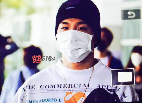 BIGBANG arrival ICN Seoul from Taiwan 2015-09-28 (14)