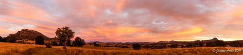 winter panorama clouds rural sunrise spectacular pano australia farmland qld queensland grasslands 2016 mtmaroon seqld mtbarneynationalpark sonya7r