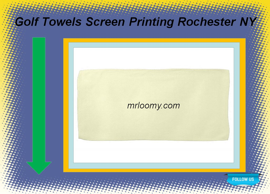 Towel screen printing service in rochester ny with image for T shirt printing in rochester ny