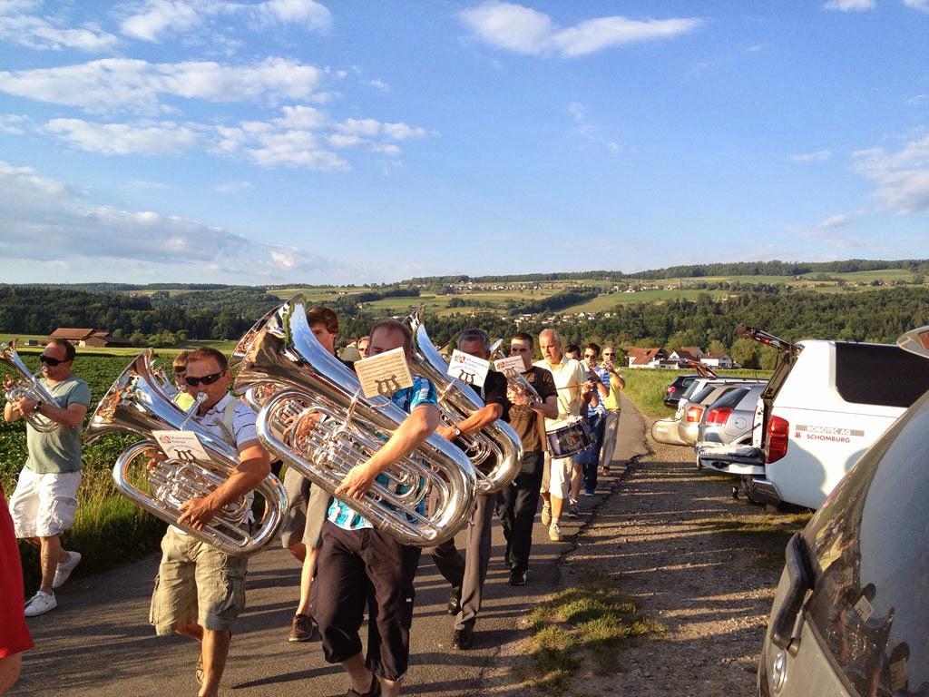 Marschmusikprobe 2012