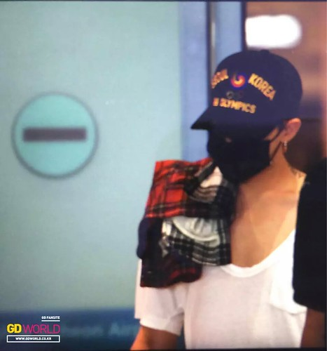 Big Bang - Incheon Airport - 02aug2015 - GD World - 01