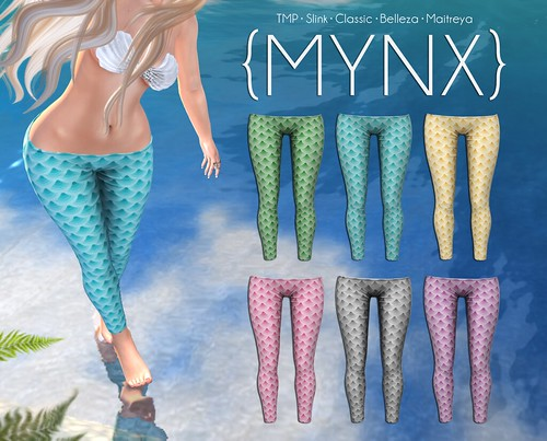 {MYNX} Mermaid Leggings