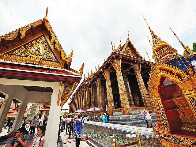 泰國曼谷景點 大皇宮 玉佛寺  36